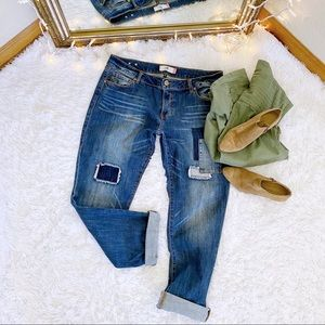 CAbi Slim Boyfriend Patchwork Jeans 12